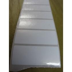 Etiqueta 50x20 Polipropileno Plástico