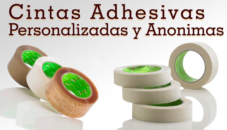 Cinta Adhesiva y Precinto Personalizado